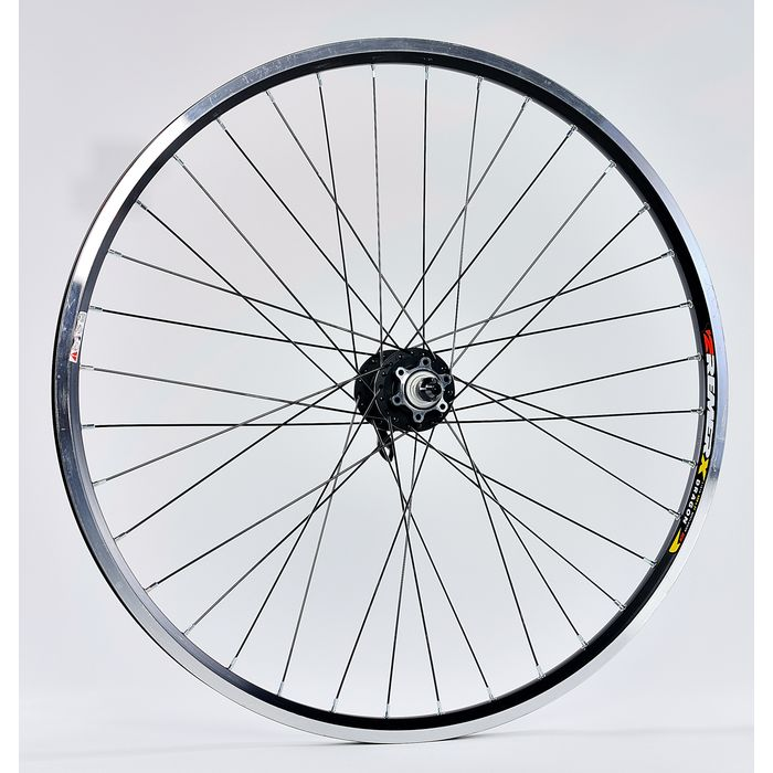 "FRONT WHEEL -26"" RIMS REMERX DRAGON 721 . PIASTA NOVATEC -FOR DISK BRAKE- mounting na 6 screws."