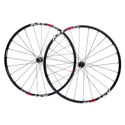 "WHEEL SET SHIMANO  WH-MT55 MTB-29"" CENTER LOCK Col. Black"
