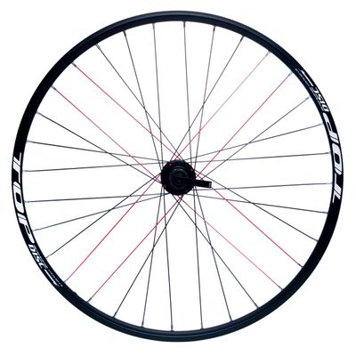 "REAR WHEEL REMERX TOP DISC 28""-29"" PIASTA JOYTECH MACHINE BEARING / 32-holes. Col.Black - Disc mounting :IS (6 screw) -Shimano"