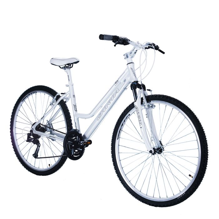 "BICYCLE  28"" CROSS - TX/ALIVIO 3x8 -LADIES White"