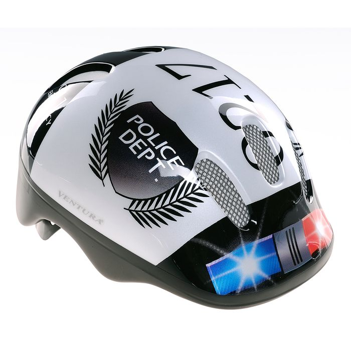 "CHILDREN"" S BICYCLE HELMET VENTURA ""POLICE"""