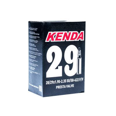 TUBE KENDA MOLDED 29x1.90-2.30-SV-48-BOX