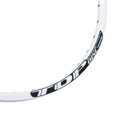 "RIM REMERX TOP DISC - 27,5""  (584 x 19)  White colour, for DISC BRAKE - 32 holes"