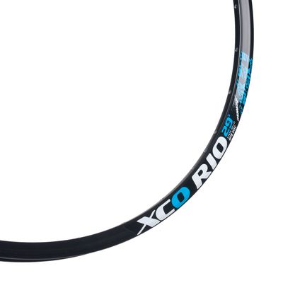 "RIM XCO RIO 29"" (622 x 17)  - 32 holes, Black colour"