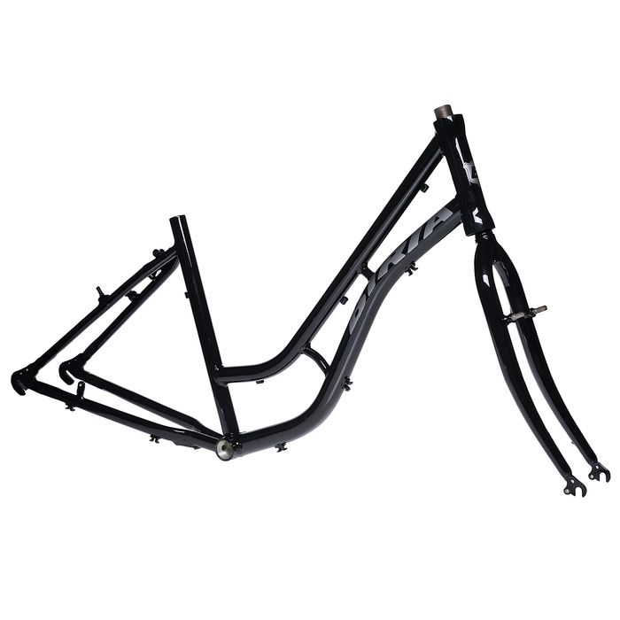 "FRAME  Aluminum TC +STEEL FORK- 17""  Black colour"