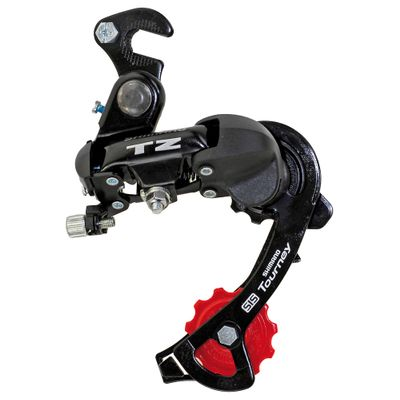 FRONT DERAILLEUR 6 B. TOURNEY - with hook