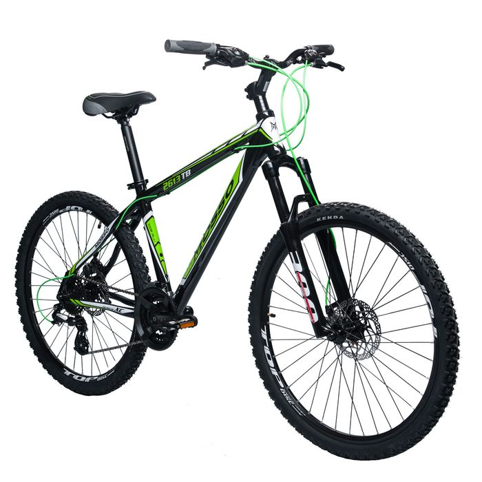 "BIKE  MTB 26"""" MOSSO 2613TB SHIMANO ALTUS-3x8 SUSPENSION FORK SPINER 300"