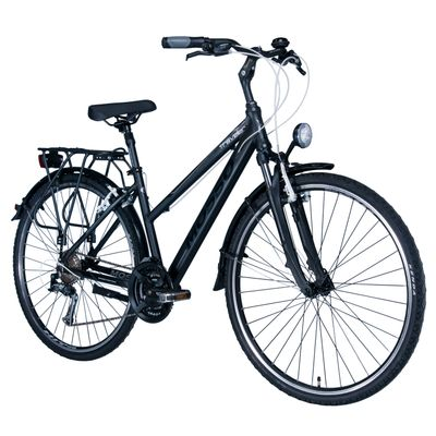 "BICYCLE TREKING MOSSO TRAVELER TX/ALIVIO 3x8  - Frame Size: 17"" ( 43 cm)"