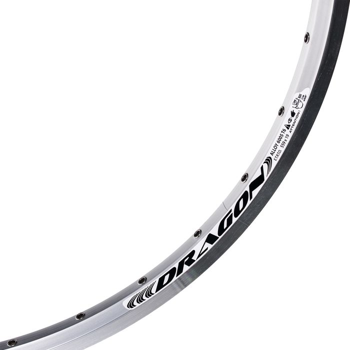"RIM REMERX - DRAGON 719  26"" (559 x 19) - 32- holes Silver colour"