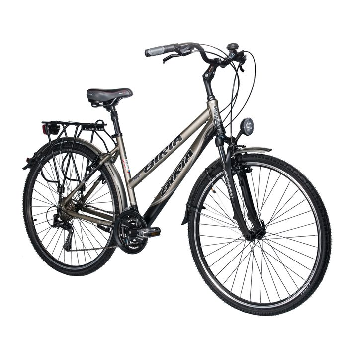 TREKKING BICYCLE  BIRIA SHIMANO TX/ALIVIO-3x8 Matt Graphite / Matt Black