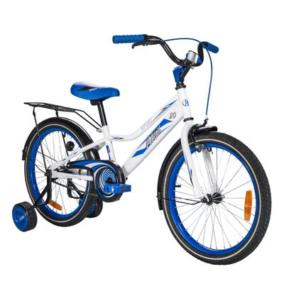 "CHILDREN'S BICYCLE -20"" ALEX Blue/ White"