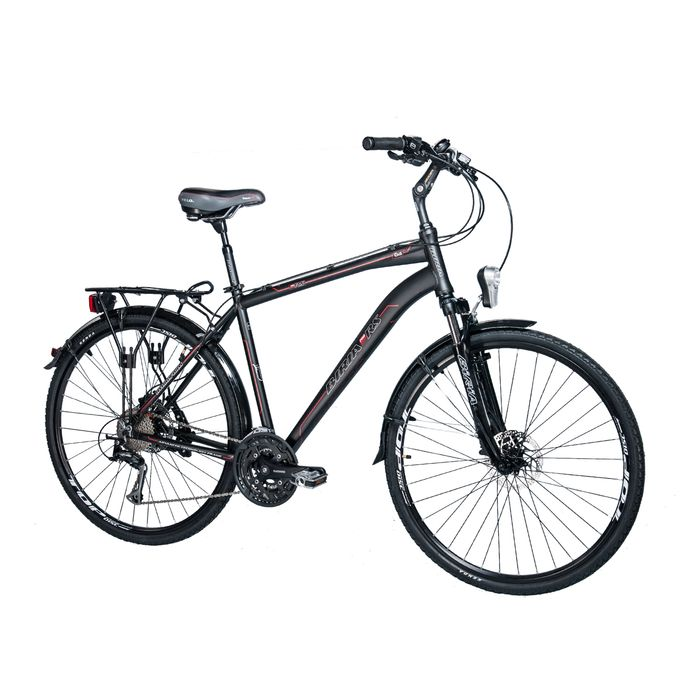 "TREKKING BICYCLE . MEN'S ""BIRIA"" ALIVIO-3x9- BRAKES PROMAX"