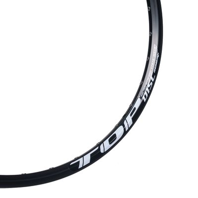 "RIM TOP DISC - 26"" (559x19) , Black colour, for DISC BRAKE - 32 holes"
