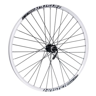 "FRONT  WHEEL  26""P.ACERA-DISK BLACK -O.MASTER DISC-WHITE"