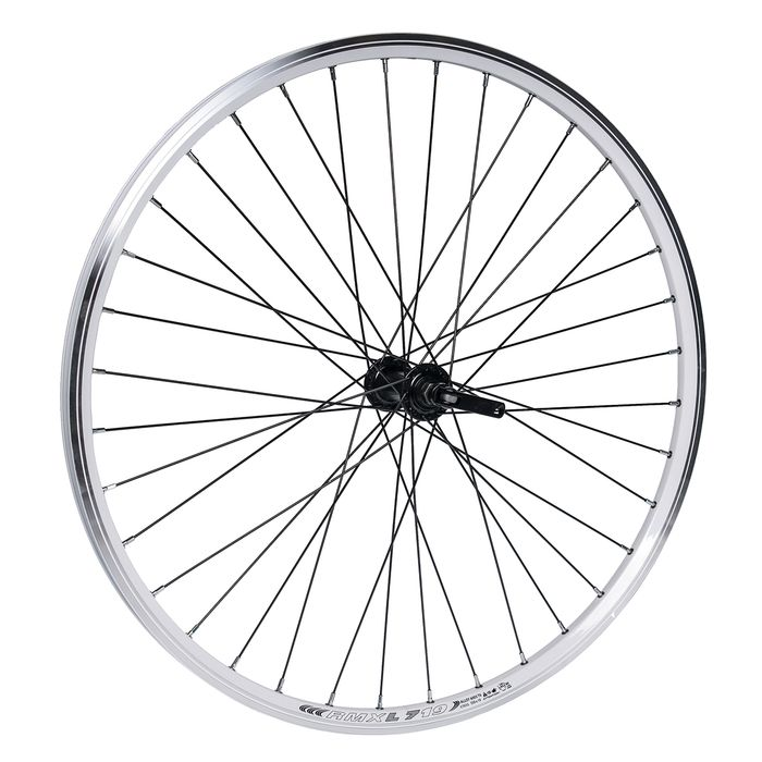 "FRONT WHEEL   -26"" RIM  REMERX DRAGON-L719 Kol.white  HUB FORMULA"