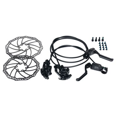 HYDRAULIC  BRAKE  PROMAX-BLACK -FRONT + BACK