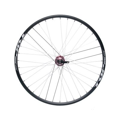 "REAR WHEEL  REMERX TOP DISC 28""-29"" PIASTA JOYTECH (6 screws mounting) / 36-holes Black"