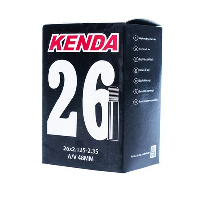 TUBE  KENDA MOLDED 26x2.125-2.35 - AV-48-BOX