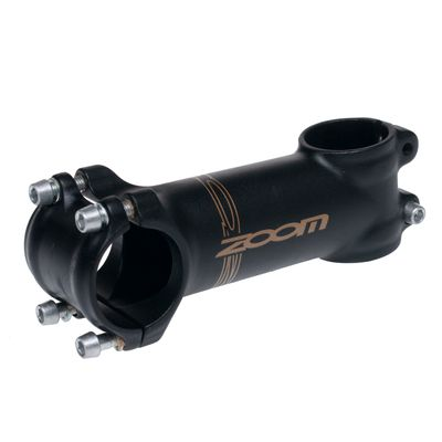 HANDLE STEM ZOOM AHEAD TDS-D507A-8FOV- 110 mm/+7 /31,8mm / MATT BLACK - 100 mm