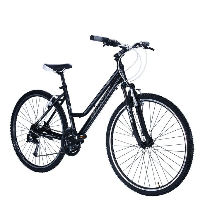 "BICYCLE  28"" CROSS - TX/ALIVIO 3x8 -LADIES Matt Black"