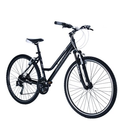 "BICYCLE  28"" CROSS - TX/ALIVIO 3x8 -LADIES Matt Black"