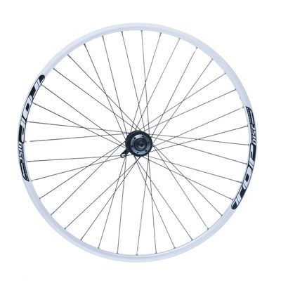 "FRONT WHEEL REMERX TOP DISC 28""-29"" HUB JOYTECH (disck mounting 6 srews ) / 36-holes White colour"