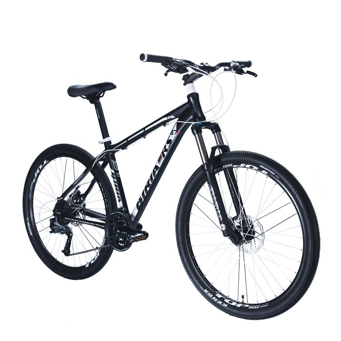 "BICYCLE  BIRIA MTB-27,5"" SHIMANO ACERA /ALIVIO -3x8 Matt Black"