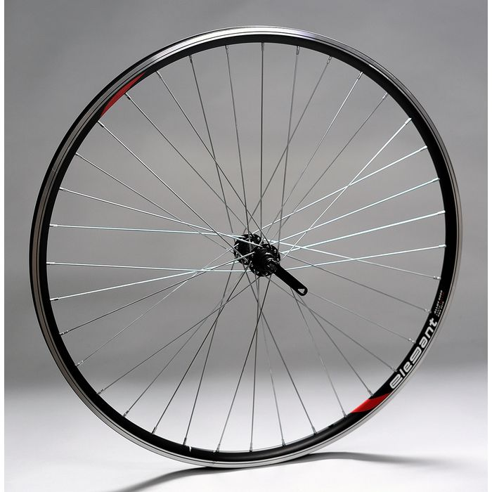 "WHEEL 28""P.FORMULA BLACK for clamp O.ELEGANT-BLACK FRONT"