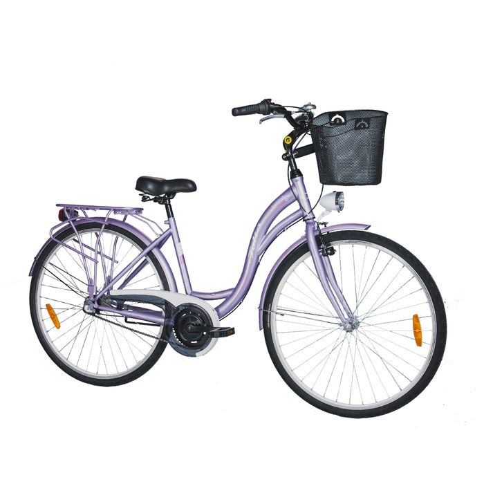 "BICYCLE 28""CITY""SWAN 2""-17"" -TORP.3 B. Glossy Violet"