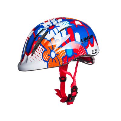 KIDS HELMET  LIMAR 124 SUPERLIGHT FLOWERS