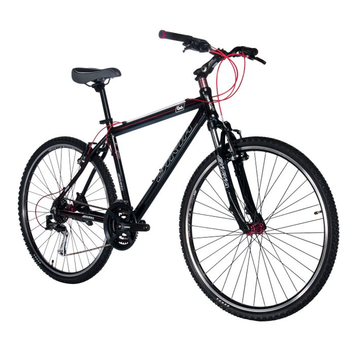 BICYCLE CROSS BIRIA SIMANO TX /ALIVIO 3x8 Col. Black /  Red line