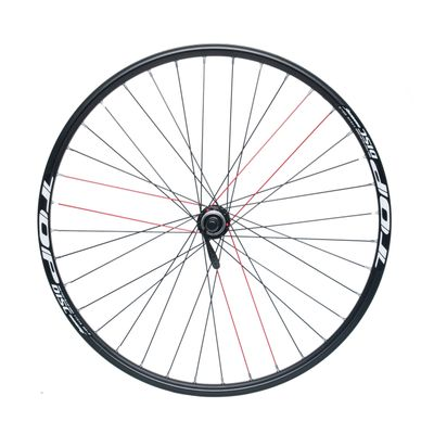 "FRONT WHEEL  REMERX TOP DISC 26"" SHIMANO HUB ACERA HB-RM66 / 36 holes Black"
