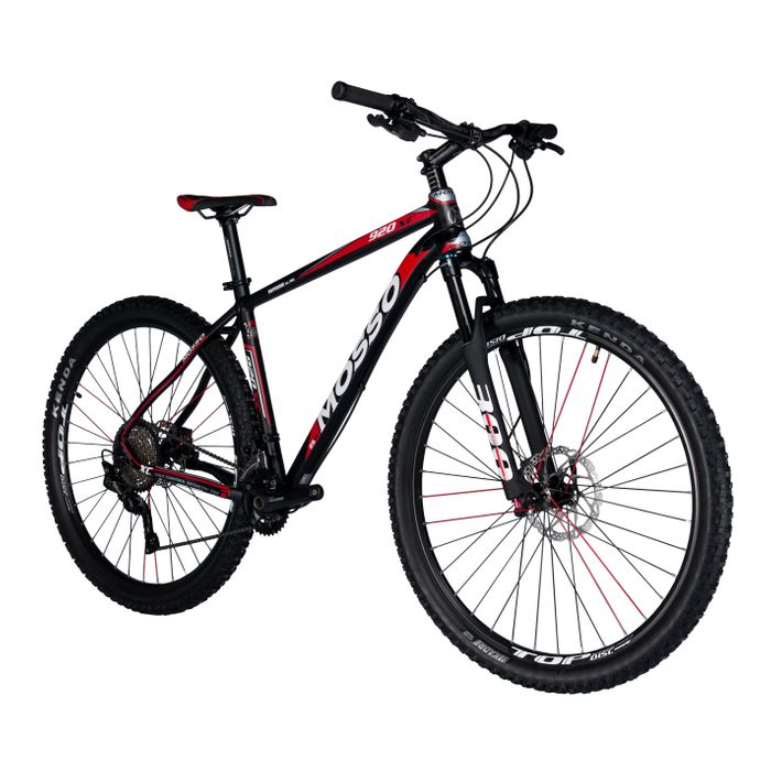 """BICYCLE MTB-29"""" MOSSO 920 XC DEORE 2x10 Col.Red"""
