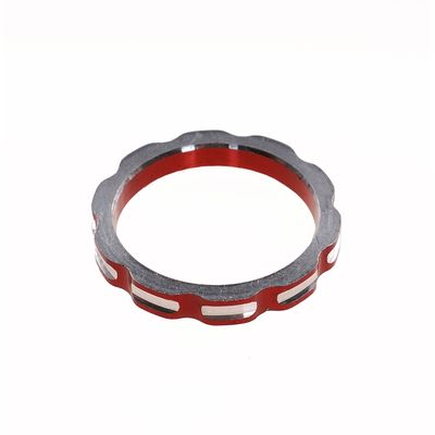 "DISTANCES SPACER FOR CONTROLLERS 1 1/8""-5mm-RED"