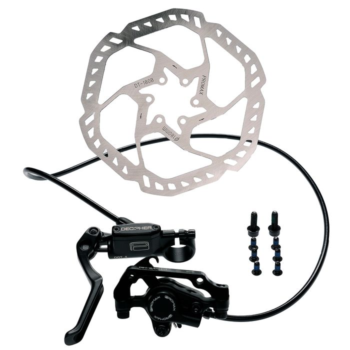HYDRAULIC BRAKE   PROMAX FRONT  + DISC -180