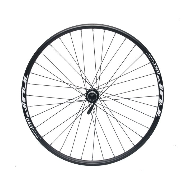 "REAR WHEEL  REMERX TOP DISC 26"" SHIMANO HUB ACERA FH-RM66 / 36 holes Black"