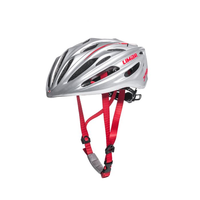 ROAD HELMET  LIMAR 778 M (52-57 CM) SUPERLIGHT SILVER / RED