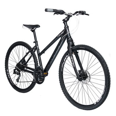 "BIKE CROSS MOSSO ""TRAVELER"" FORK ALUMINUM  ZOOM SHIMANO TX800/ALIVIO 3x8 Matt Black"