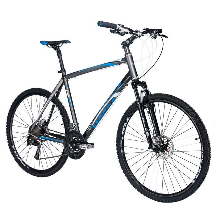 BIKE  CROSS MOSSO - 770TB3 SHIMANO ALIVIO 3x9 SUSPENSION FORK RST NEON RL