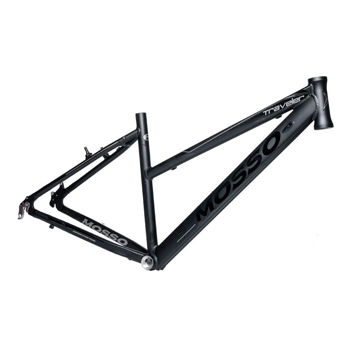 "FRAME CROSS -TREKKING -28"" MOSSO MOD.773 CR ""TRAVELER"" 17"" (43cm)  Matt Black"