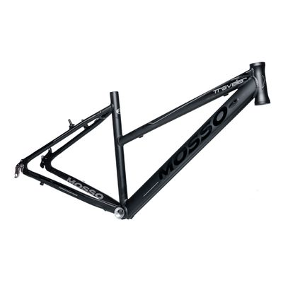 "FRAME CROSS -TREKKING -28"" MOSSO MOD.773 CR ""TRAVELER"" 17"" (43cm)  Matt Black - Matt Black"