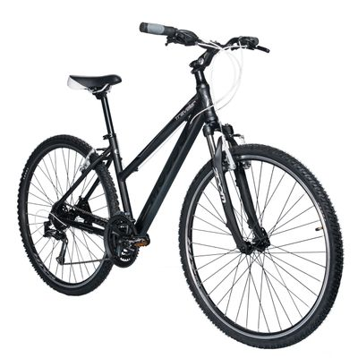 "BIKE CROSS MOSSO ""TRAVELER"" SHIMANO TX800/ALIVIO 3x8 Black Matt"