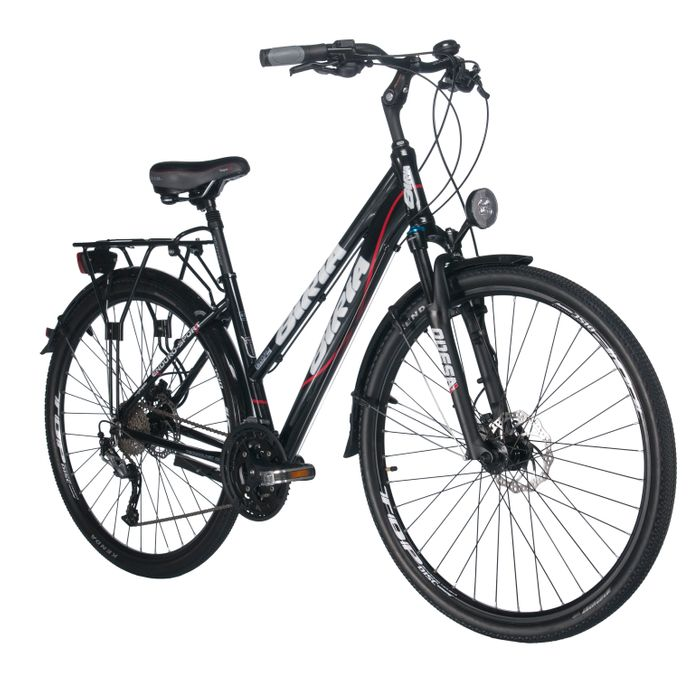 "BICYCLE TREK. FEMALE ""BIRIA"" ALIVIO-3x9-HAM.DYSK.SHI"