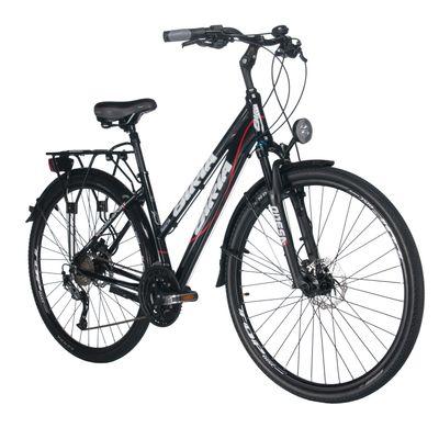 """BICYCLE TREK. FEMALE """"BIRIA"""" ALIVIO-3x9-HAM.DYSK.SHI - Frame Size: 17"""" ( 44 cm )"""