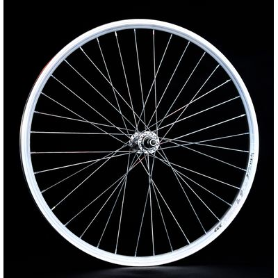 "FRONT WHEEL  -24"" RIM  REMERX DRAGON L-719 mounting for nut  - Silver colour"