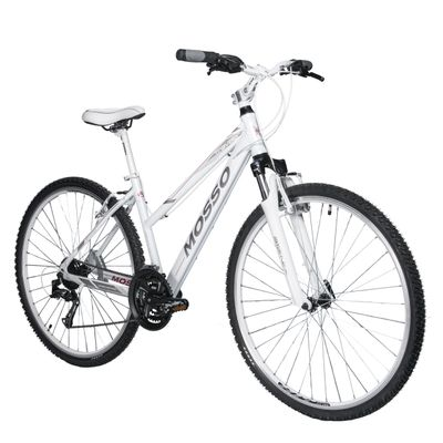 "BIKE CROSS MOSSO ""TRAVELER"" SHIMANO TX800/ALIVIO 3x8 WHITE"