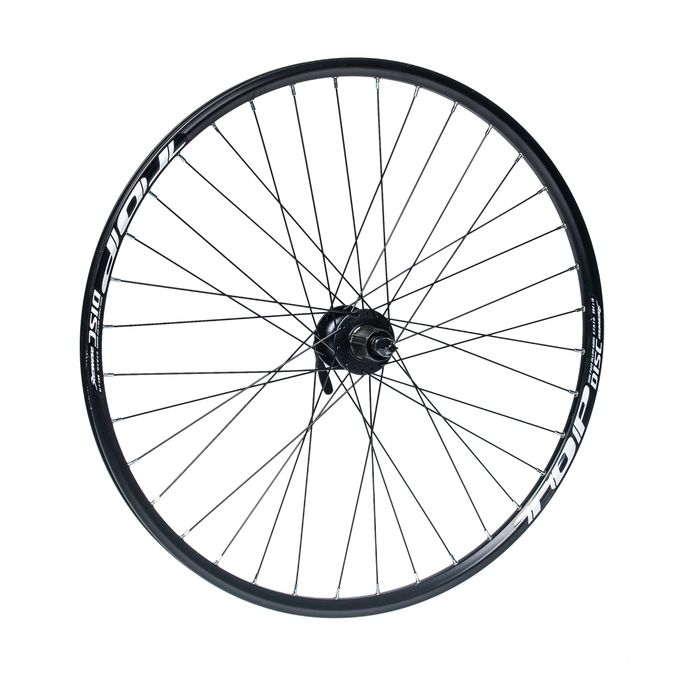 "REAR WHEEL  REMERX TOP DISC 27,5""/650B HUB SHIMANO FH-M475 (Disc mounting for 6 screws ) / 36 joles Black colour"