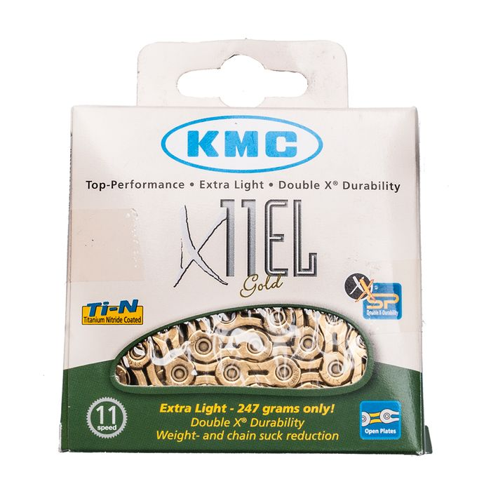 CHAIN  KMC X-11-EL SILVER -  114 Links - 11 speed Col. Silver