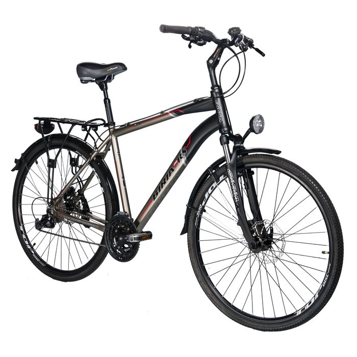"TREKKING BICYCLE  MEN'S ""BIRIA"" ALIVIO-3x9- BRAKES PROMAX"