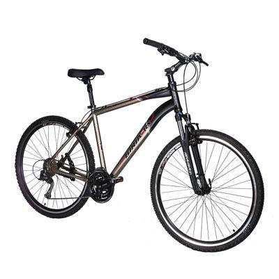 BICYCLE  BIRIA CROSS MEN'S  - ACERA / ALIVIO 3 x 8  Matt Graphite / Matt Black